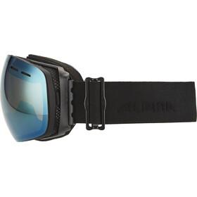 Alpina Granby Multimirror Goggle gold spherical S2/black matt
